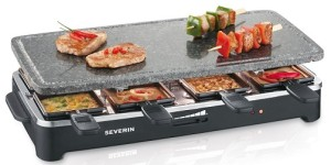 severin rg 2343 raclette grill test