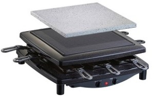 steba rc3 plus raclette grill test